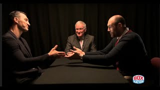 TYSON FURY v WLADIMIR KLITSCHKO 2 -  'FACE TO FACE' - EXCLUSIVE TO BOXNATION - (FULL HD VERSION)