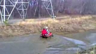 8. Big Bear 400 2wd Mud Wheelie