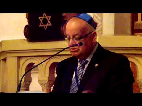 opening ceremony. keynote speaker Justice Salim Jubran