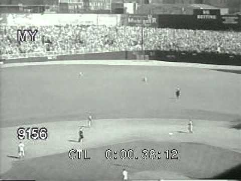 don larsen - This footage available from MyFootage.com (212) 620-3955 -- Don Larsen's No Hitter, 1956, http://www.myfootage.com/details.php?gid=58&sgid=&pid=23202.