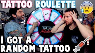 Video TATTOO ROULETTE (I Got a RANDOM Tattoo) MP3, 3GP, MP4, WEBM, AVI, FLV Januari 2018