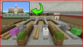 Minecraft Tutorial: How To Make A Bowling Alley Interior/Exterior (Inside/Outside)