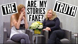 ARE MY STORIES FAKE? THE TRUTH WITH MY MOM by Channon Rose