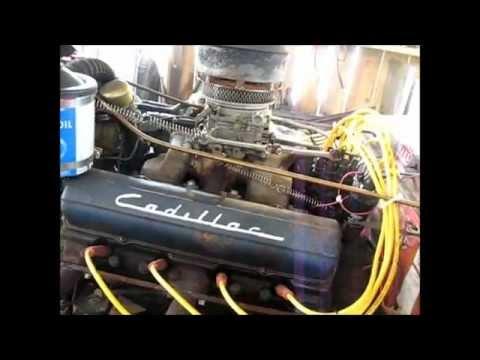 Fix leak on 1953 Cadillac 331