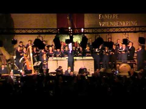 Fanfare Vriendenkring Kerstconcert Overloon 18-12-2011