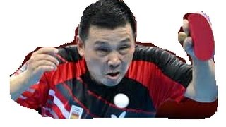 Video [TT Incredible] He Zhiwen serve so good, even Umpire smiles. MP3, 3GP, MP4, WEBM, AVI, FLV September 2018