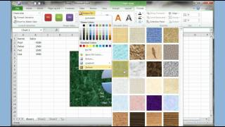 Microsoft Excel 2007 2010 pt 2.(Pie/Column Chart and Chart Tools)