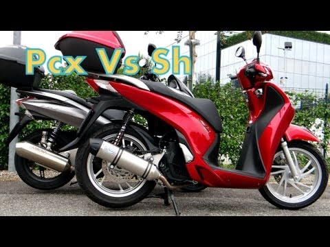 Pcx 125    Vs    Sh 150
