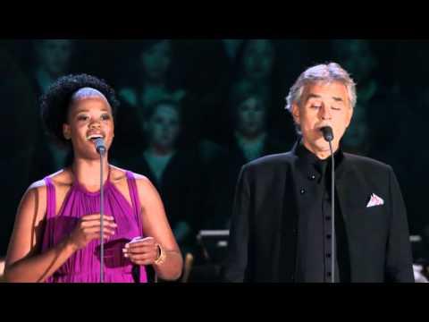 Tekst piosenki Andrea Bocelli - O soave fanciulla  feat. Pretty Yende po polsku