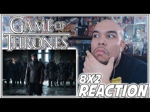 "Game of Thrones Season 8 Episode 2 REACTION ""A Knight of the Seven Kingdoms"" PT 1 - 8x2 Reaction"