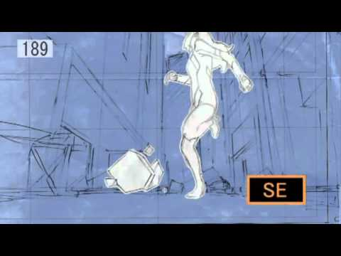 Anime Key animation (Genga) compilation