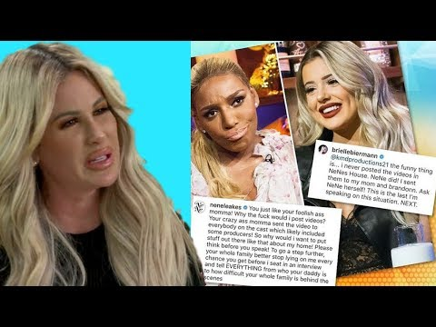 "NeNe Leakes To Brielle Biermann ""Don't Make Me Expose Your REAL Daddy"" 
