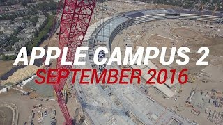 APPLE CAMPUS 2 September 2016 Construction Update 4K