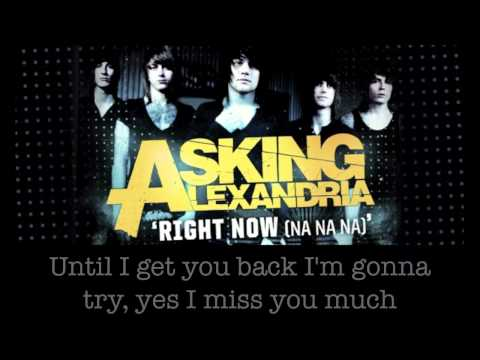 Asking Alexandria Right Now