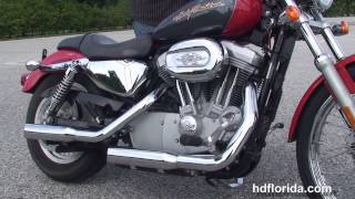 5. Used 2006 Harley Davidson Sportster 883 Custom Motorcycles for sale  - Ft. Lauderdale