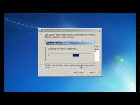 How to repair the MBR (Master Boot Record)