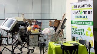 Rede de supermercados faz campanha para recolher lixo eletrônico