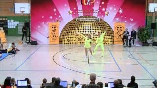 Chiara Pütz & Christopher Pütz - Landesmeisterschaft Hessen 2013-14