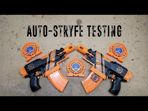 Nerf For Science! - Auto-Stryfe Testing