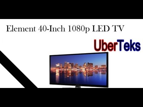 Element 40-Inch 1080p 120Hz LED TV (ELEFT406) Overview & Review