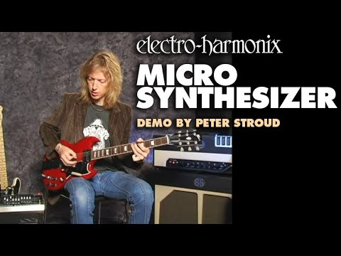 Micro Synthesizer – Demo by Peter Stroud – Analog Guitar Microsynth