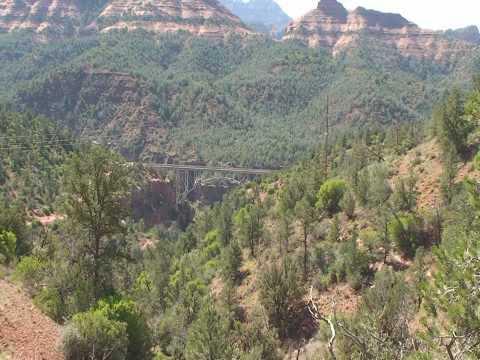 Arizona Sedona Jim Thomson to Wilson Canyon Trail