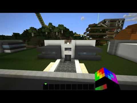 moderne kuće - Danas sam vam pokazao 2 moderne kuce koje sam ja pravio na hamachi serveru. Ako su vam se svidele Like Sub :)