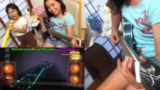 Audrey (10 years old) plays Guitar - War Ensemble - Slayer on ROCKSMITH2014. I last played this in Jan. I couldn't pass without ...