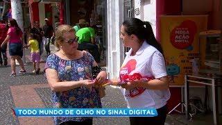 Seja Digital realiza ações para orientar população de Marília sobre fim do sinal analógico