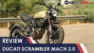 1. 2018 Ducati Scrambler Mach 2.0 Review | NDTV carandbike
