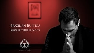 BJJ Black Belt Requirements YouTube video