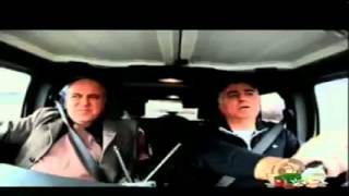 گپ خودمانی شهرام همایون با شاهزاده رضا پهلوی در حال رانندگی