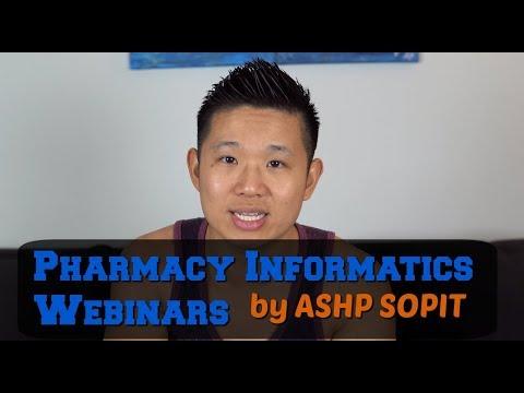 Pharmacy Informatics Webinars by ASHP SOPIT