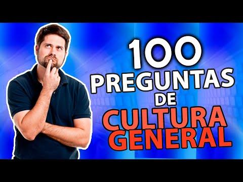 100 PREGUNTAS SOBRE CULTURA GENERAL 🌍 [2]