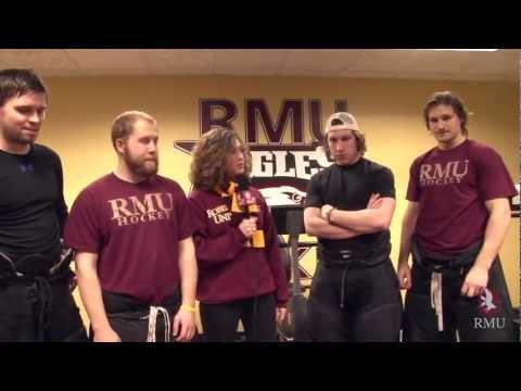 RMU Ice Hockey: As good as GOLD