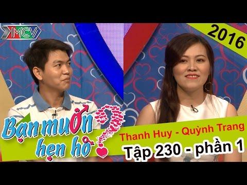 Bạn Muốn Hẹn Hò Tập 330 cặp đôi số 2 Thanh Huy Quỳnh Trang