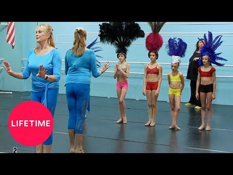 Dance Moms: The Girls Meet a Vegas Showgirl (Season 1 Flashback) | Lifetime
