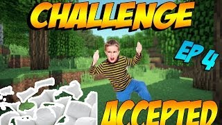 Minecraft Challenge Accepted #4 - Marshmallow Mouth!