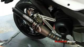 8. How to fit the Arrow Extreme Exhaust to Aprilia SRMT 50cc