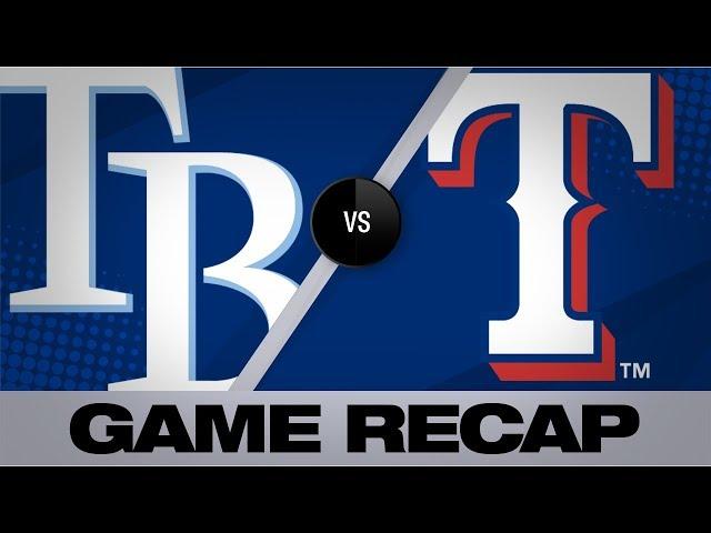 Lo mas relevante del juego Rays-Rangers 11/09/2019 MLB