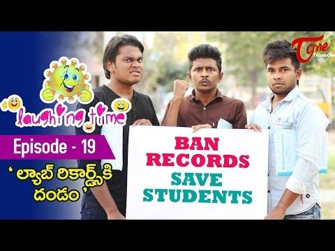 Laughing Time | Lab Records Ki Dhandam | Episode 19 | by Ravi Ganjam | TeluguComedyWebSeries