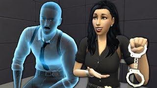 GOOD COP, GHOST COP - The Sims 4 Funny Highlights #136