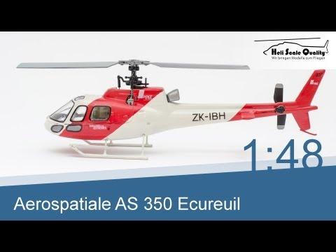 Das Modell der Aerospatiale (Eurocopter)...
