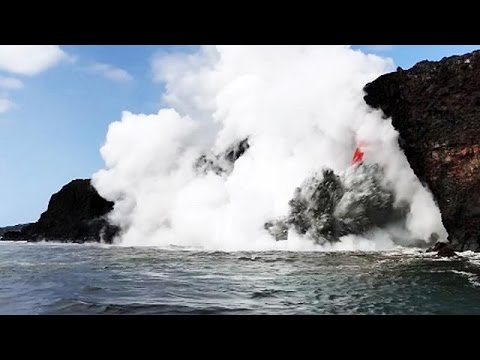 Ηφαίστειο Κιλαουέα: Όταν η καυτή λάβα συναντάει τη θάλασσα