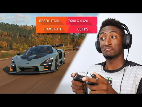 Can You Actually Game in 8K? (RTX 3090 Gameplay!)