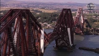 Scotland From Above: Edinburgh To Fingal's Cave Route