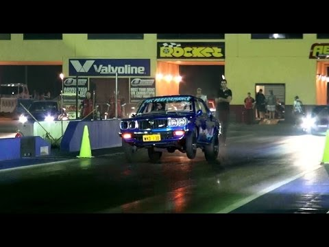 PAC PERFORMANCE MAZDA RX3'S RACING AT SYDNEY DRAGWAY 27.11.2013