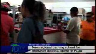 By Rolynda Johnathan A new regional training school has opened up in Peleliu, Palau's outlying state. The Regional Explosive Ordnance Disposal Training ...