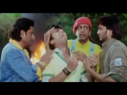 Pappaji slap -  Dhamaal Comedy Scene - Bollywood Comedy Movies