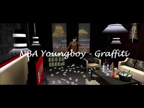 YoungBoy Never Broke Again - Graffiti (Animated Music Video)